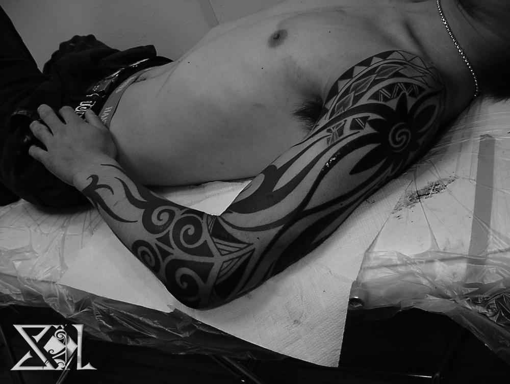 トライバル タトゥー タトゥー 名古屋 OLYMPUS DIGITAL CAMERA